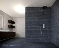 Badkamer.  Ruime badkamer met tegels van Sphinx. Door Inspiratie2000 ...