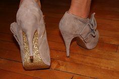 DIY Glitter Shoe Soles