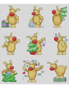 Rudolph Christmas Cards