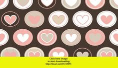 cute! brown hearts wallpaper , Android , torrent, downloads, rapidshare, filesonic, hotfile, megaupload, fileserve