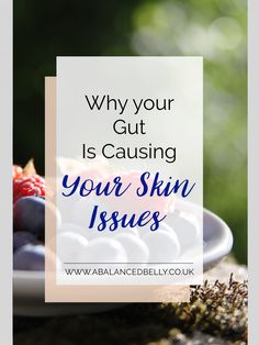Explaining how your gut is linked to your skin. Did you know your gut is linked to eczema, psorasis and other skin conditions? Read more about and my top tips to help .
