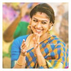 #Viswasam latest #Nayanthara pic Nayanthara In Saree, Checks Saree, Fancy Blouse Designs, Saree Wedding, Sarees, Films, Couple Photos, Celebrities, Instagram