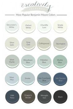 Benjamin Moore Gris, Colores Benjamin Moore, Benjamin Moore Couleurs, Benjamin Moore Bedroom, Navy Paint Colors, Popular Paint Colors, Favorite Paint Colors, Paint Colors For Home, Paint Colors