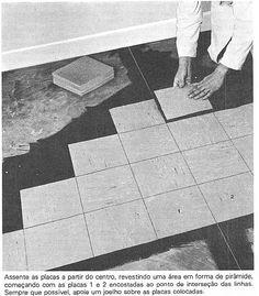 Forma correta de assentar o piso vinílico