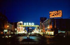 urbancentury:Downtown Reno Nevada. Ca.1949.