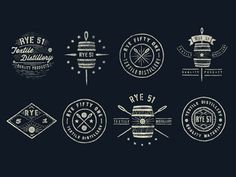 Jonathan Schubert explores making Rye Whiskey labels.