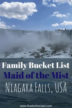 Have you visited Maid of the Mist in Niagara Falls, Canada? It is a must for every family bucket list! Beautiful and Awe inspiring!