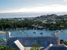 View from Fort Hamilton, Bermuda