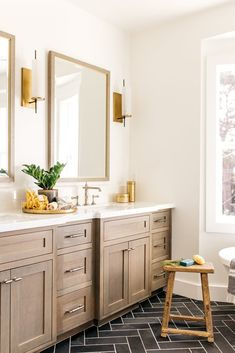 Sourcing: Devonshire Master Bathroom Greige Design - March 24 2019 at Bathroom Renos, Bathroom Cabinets, Bathroom Renovations, Home Renovation, Bathroom Layout, Bathroom Ideas, Bathroom Colors, Bathroom Designs, Bathroom Remodelling