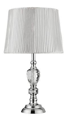 Stolní lampa SEARCHLIGHT SL 6689CC | Uni-Svitidla.cz Klasická pokojová #lampička vhodná jako doplňkové osvětlení domácnosti či kanceláře #functional, #classic, #lamp, #table, #light, #lampa, #lampy, #lampičky, #stolní, #stolnílampy, #room, #bathroom, #livingroom