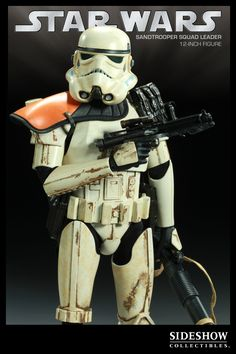 Sixth Scale Figure - Sandtrooper: Squad Leader #21382