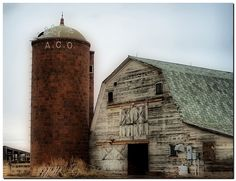 Barn And Silo | barn & silo.jpg | Flickr - Photo Sharing!