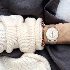 Damenuhr Armbanduhr Edelstahl Uhr Uhren Günstig Farbe: Creme Beige Gold Style…