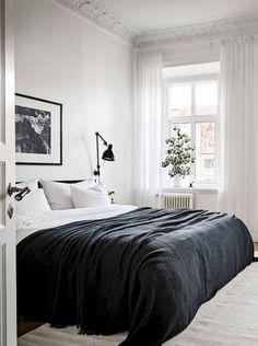53+ Awesome Favourite Scandinavian Bedroom Design Ideas #bedroomdecor #bedroomdesign #bedroomideas