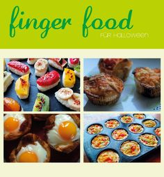 finger food ideas for your Halloween or Fall Party