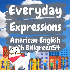 American English expressions are extremely useful in everyday speech! It's how people speak in conversations! Learning everyday spoken English will make you a better speaker and help you with fluency! American English Grammar, English Language, English Study, Learn English, Grammar Review, Everyday English, Perfect English, Best Speakers, Fun Learning