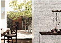 AS Creation Stone Brick Wall Pattern Faux Effect Embossed Vinyl Wallpaper 958711 Blue Grey Wallpaper, Brick Wall Wallpaper, Vinyl Wallpaper, Textured Wallpaper, Wall Patterns, Textures Patterns, Photo Pattern, Latest Design Trends, Vinyl Designs