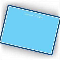 Blue Hewn Correspondence Cards