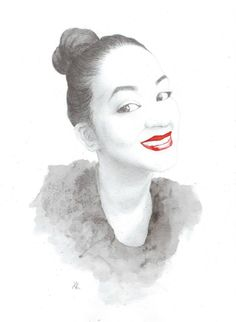 Oh! A blogger called You You Xue draw me! This is awesome!