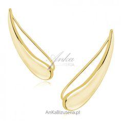 kolczyki dla kobiet ze strony sklepu ankabizuteria.pl Clothes Hanger, Bracelets, Jewelry, Fashion, Coat Hanger, Moda, Jewlery, Jewerly, Fashion Styles