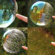 Comment les bulles éclatent
