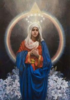 Nossa Senhora, por ser Mãe de Jesus, é Mãe do Criador e Mãe do ...