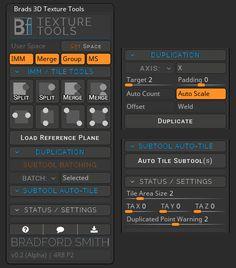 ZBrush Plugin: Texture Tools
