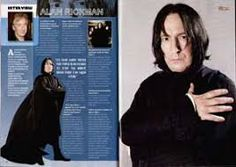 Image result for alan rickman magazine covers