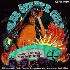 Blue Oyster Cult 1981 Godzilla Live From Ny Album