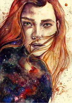 space copper by Poplavskaya