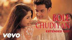 Bole Chudiyan - Kabhi Khushi Kabhie Gham - Full HD Video Song with Lyrics  Download Now Amitabh Bachchan Jaya Bachchan Shah Rukh Khan Kajol Hrithik Roshan Kareena Kapoor Download Now