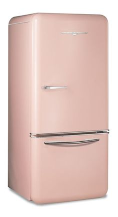 fridge_1950-Flamingo-Pink  I would take a retro kitchen with this color appliances