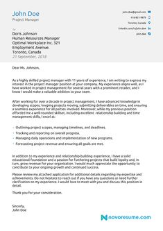 23 Cover Letter Structure Cover Letter Resume Pinterest Cover