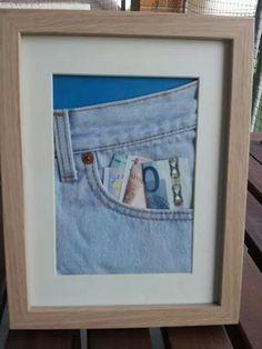 Tasche voll Geld; süße Geldgeschenk-Idee