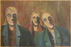 Acrylic Paintings - LASSE LAALART ALEXANDERSSON OFFICIAL SITE