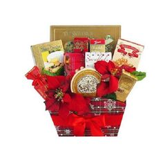 Food Gift Basket Christmas Happy Holiday Gourmet Art of Appreciation Keepsake  #ArtofAppreciationGiftBaskets