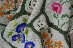 hmm...is this embroidery on crochet?