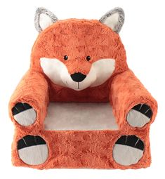 Animal Adventure Sweet Seats Plush Chair - Fox for sale online