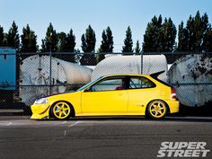 Super Street Online - 1999 Honda Civic Type R - Burthday Secks (found while searching for builds similar to what mine will be)