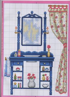This Pin was discovered by war Cross Stitch House, Small Cross Stitch, Just Cross Stitch, Cross Stitch Needles, Cross Stitch Samplers, Cross Stitch Designs, Cross Stitching, Cross Stitch Embroidery, Cross Stitch Patterns