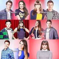 Glee. I didnt realize he made a promo for season 5 :( He wasnt even in it. omg this literally makes me want to cry