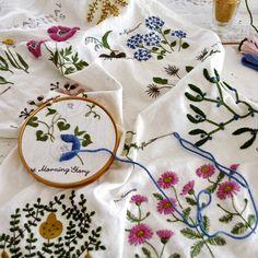 embroidery kit by yumiko higuchi