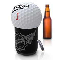 Gifts For Golfers Bottle Opener With 25 Funny Golf Quotes To Make You Laugh With Every Beer Funded on SharkTank * Click on the image for additional details.  This link participates in Amazon Service LLC Associates Program, a program designed to let participant earn advertising fees by advertising and linking to Amazon.com.