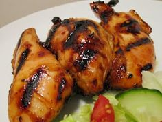 Jenn's Food Journey: Sweet and Sour Grilled Chicken