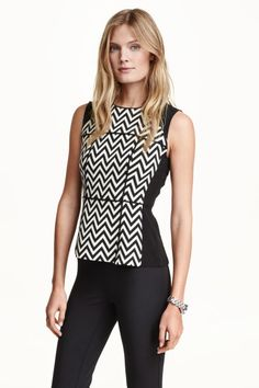 H&M - Sleeveless blouse £24.99