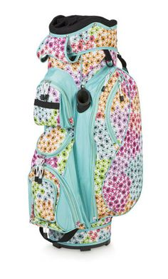 Room It Up/All For Color Ladies Cart Golf Bags - Garden Party