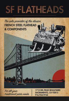 Postcard for SF Flatheads