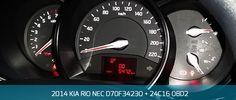 2014 KIA RIO NEC D70F3423 + 24C16 OBD2  Odometer programming by OBD2 with Enigmatool