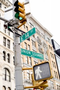 Union Square, Address: 14th to 17th Streets in the Flatiron District of lower Midtown Manhattan, NYC