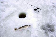 Ice fishing - #PathfinderAdventures